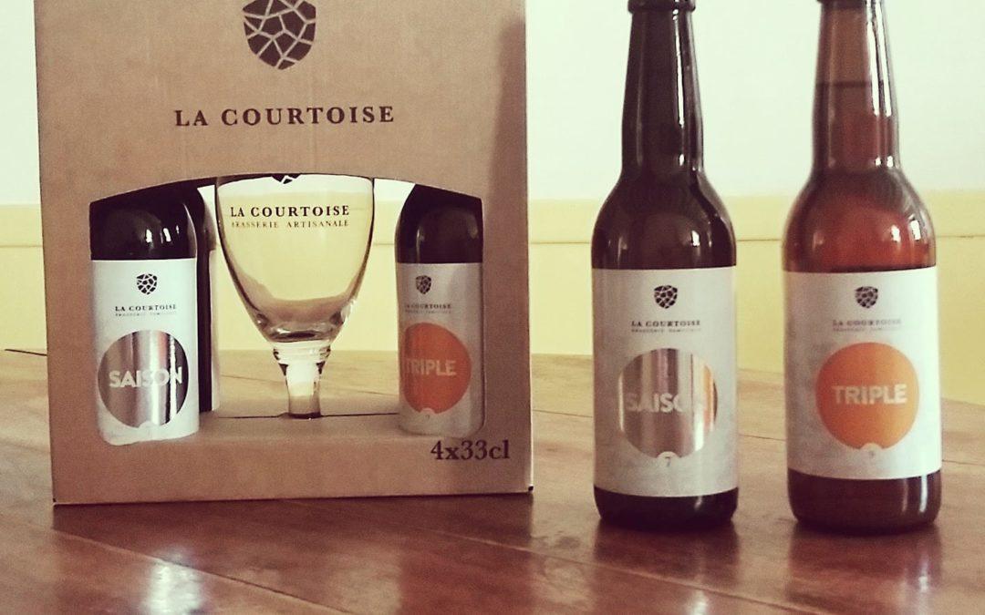 Vente de bière La Courtoise